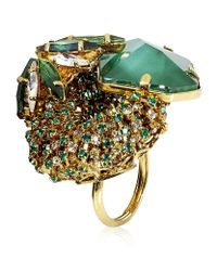Erickson Beamon | Green Envy Ring | Lyst