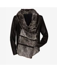 Helmut Lang - Black Preorder Exclusive Flux Fur Jacket - Lyst