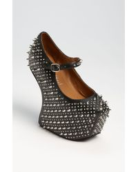 Jeffrey Campbell | Black Prickly Pump | Lyst