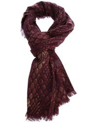 Marc By Marc Jacobs | Red Dragonscale Shawl | Lyst