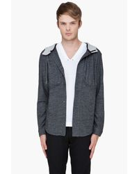 Adidas SLVR - Gray Wool Hoodie for Men - Lyst
