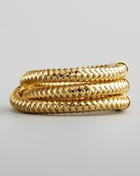 Roberto Coin | Metallic Primavera Threerow Ring | Lyst
