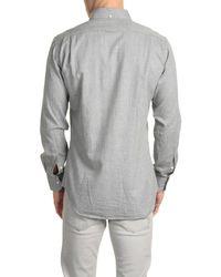 Thom Browne - Gray Long Sleeve Shirt for Men - Lyst