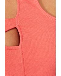 Nasty Gal - Pink Hacker Dress Shock - Lyst