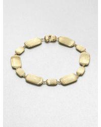 Marco Bicego   Metallic 18k Gold Engraved Nugget Bracelet   Lyst