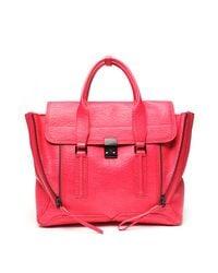 3.1 Phillip Lim | Pink Large Pashli Satchel | Lyst