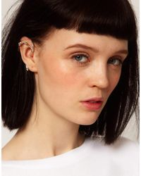 Husam El Odeh - Metallic Exclusive To Asos Earcuff - Lyst