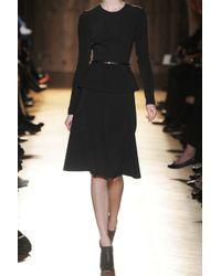 Roland Mouret | Black Barnicles Stretch Crepe Dress | Lyst
