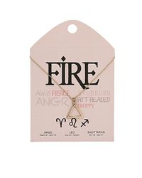 TOPSHOP | Metallic Fire Triangle Ditsy Necklace | Lyst