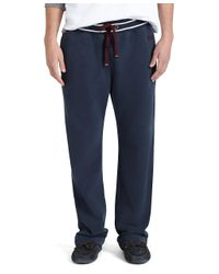 Brooks Brothers - Blue Fleece Pants for Men - Lyst