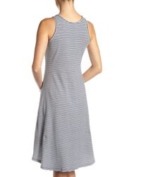 MICHAEL Michael Kors | Gray Belt-strap Tank Dress | Lyst