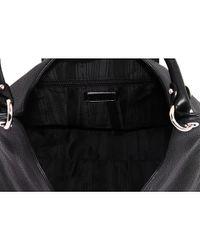 Ferragamo - Black 'Fanisa' Leather Hobo - Lyst