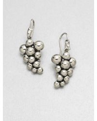 Georg Jensen | Metallic Sterling Silver Grape Earrings | Lyst