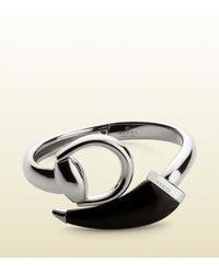 Gucci - Metallic Horsebit Bracelet for Men - Lyst