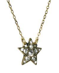 Cath Kidston - Metallic Large Star Pendant Necklace - Lyst