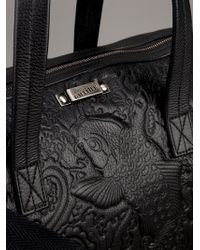 Jean Paul Gaultier - Black Embossed Bag - Lyst