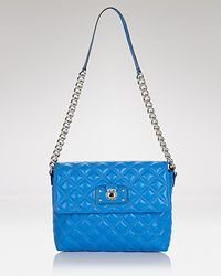 Marc Jacobs | Blue Shoulder Bag Iconic Quilting Large Single | Lyst
