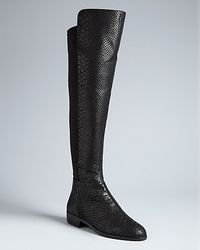 Michael Kors | Black Michael Stretch Tall Boots Bromley | Lyst