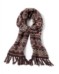 Tommy Hilfiger - Brown Smiths Scarf for Men - Lyst