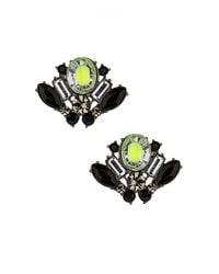 TOPSHOP | Multicolor Multi Stone Stud Earrings | Lyst