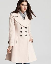 Fleurette | Natural Double Breasted Princess Coat | Lyst