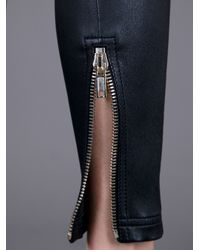 Givenchy | Black Skinny Zip Bottom Trouser | Lyst