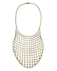 Anndra Neen | Metallic Cage Bib Necklace | Lyst