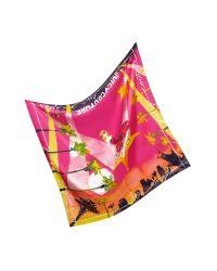 Juicy Couture - Purple La Silk Square Scarf - Lyst