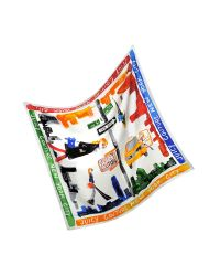Juicy Couture - Multicolor Ny Silk Square Scarf - Lyst