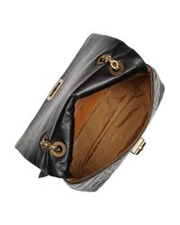 Lanvin | Black Happy Birthday Quilted Leather Shoulder Bag | Lyst