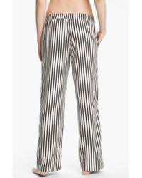 DKNY | Brown Mans World Flannel Pajama Pants | Lyst