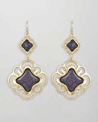 Kendra Scott | Dillon Earrings Blue | Lyst