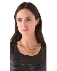 Lulu Frost - Metallic Medusa Necklace - Lyst