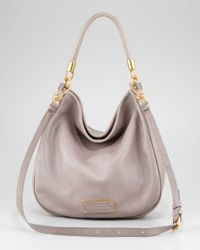 Marc By Marc Jacobs | Gray Too Hot To Handle Hobo Bag | Lyst