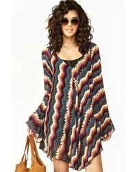Nasty Gal - Multicolor Banjo Dress - Lyst