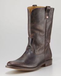 Billy Reid - Brown Terrance Cowboy Boot for Men - Lyst