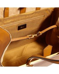 Fendi | Brown Large 2jours Tote | Lyst