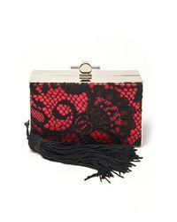 Jason Wu | Brown Lace Box Clutch | Lyst