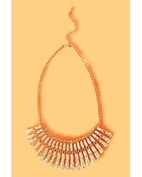 Nasty Gal - Metallic Cleo Collar Necklace - Lyst