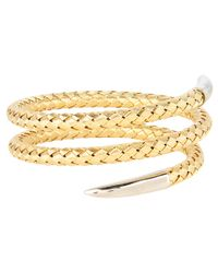 Roberto Coin - Yellow Snake Bangle - Lyst