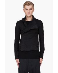 Gareth Pugh | Black Wrap Jacket for Men | Lyst