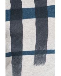 Burberry   Gray Brit Check Sweater for Men   Lyst