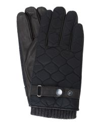 Ted Baker | Black Onion Quilt Nylon Gloves for Men | Lyst