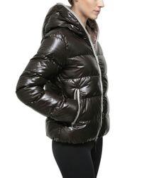 Duvetica | Black Thia Shiny Nylon Down Jacket | Lyst