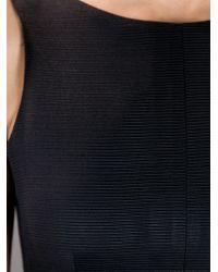 Paper London | Black Structured Shift Dress | Lyst