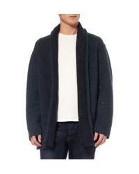 The Elder Statesman | Blue Oversized Cashmere Cardigan for Men | Lyst