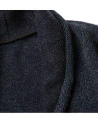 The Elder Statesman - Blue Oversized Cashmere Cardigan for Men - Lyst