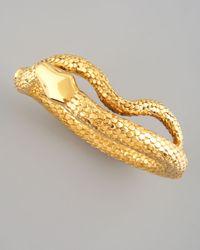 Aurelie Bidermann | Metallic Snake Bracelet | Lyst