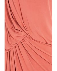 Elie Saab | Pink Sleeveless Long Jersey Gown | Lyst
