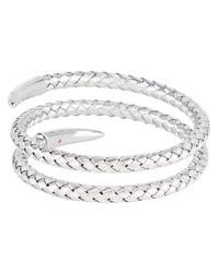 Roberto Coin - Metallic Snake Bangle - Lyst